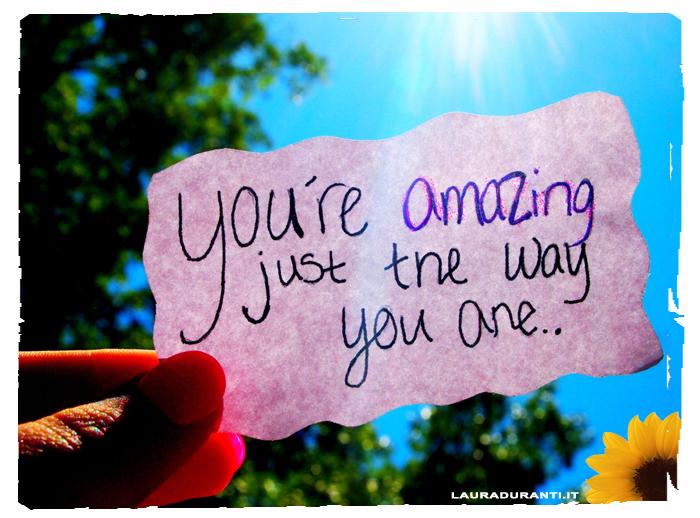 Sei meraviglioso